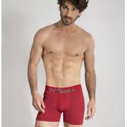 Pack X3 Boxer S/costura Liso/rayado Hombre  Zorba A 130 -131