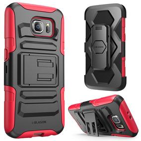 Carcas I-blason Serie Prime Para Samsung Galaxy S6 Rojo