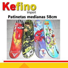Patineta Para Niños 59cm Spiderman Ben10 Y Mas Juguete