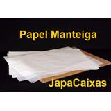 Papel Manteiga 50cm X 70cm Resma C/ 400 Folhas 35g/m2