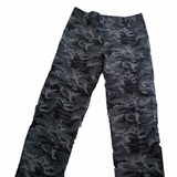 Pantalones Cargo Camuflado Ripstop Dos Bueyes