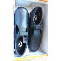 Zapato Nena Mujer Liquido X Cierre Talle 38