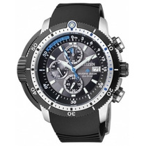 Citizen Eco-drive Prom Aqual Chrono Divers Japa Bj2120-07e
