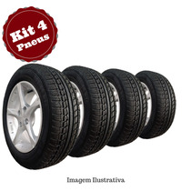 Kit 4 Pneu 195/60 R15 Remold Gw Tyre Pirelli 5anos Garantia