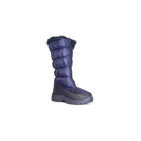 Capa De Ozono Bota De Invierno Color Marino Textil 9001875