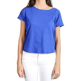 Camiseta Rosé Pistol Para Mujer - Azul
