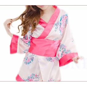 Kimono Japonês , Robe,sexy Fantasia, Frete Gratis Brasil