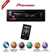 Toca Cd Pioneer Deh-x1950ub Sd Mp3 Usb Bluetooth Lançamento