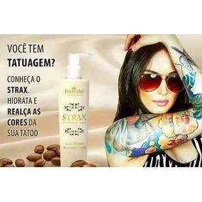 Loção Hidratante Argan Para Tatuagem Strax Hinode 240 G