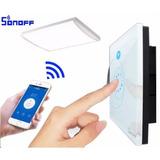 Sonoff Touch - Tecla Tactil App Celular - Domotica