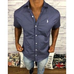 Camisa Social Masculina Original Polo Ralph Lauren Slim Fit