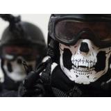 Balaclava Tática Caveira Airsoft Policial Moto Desporto