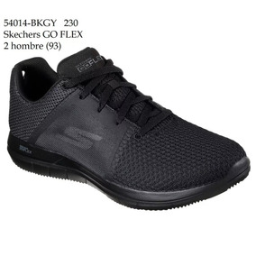 Zapatos negros Skechers Sport para hombre 8Q6NuM
