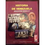 Libro Historia De Venezuela 8vo. Áureo Yepez Castillo/ev