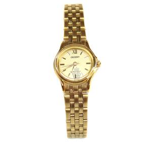 Reloj Dama Orient Original Gold Fondo Dorado Mod. Ub5c-n0-a