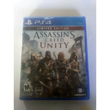 Assassins Creed Unity Limited Edition Ps4 Nuevo Envio Gratis