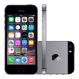 Iphone 5s De 16gb Preto Apple 4g Wi-fi Original