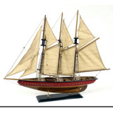 Velero Miniatura 60 Cm Madera Decorativo Barco - Escala