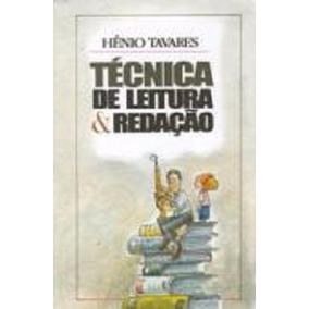 Técnica De Leitura & Redação - Hênio Tavares
