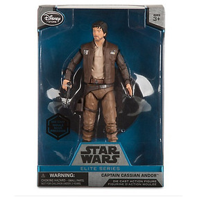 Boneco Captain Cassian Andor Serie Elite Star Wars Rogue One