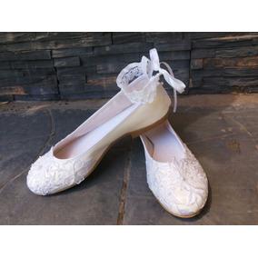 Zapatos Ballerinas Chatitas Fiestas Novia Casamientos 10%off