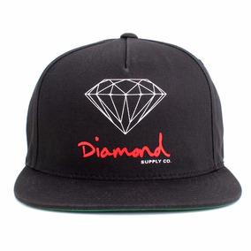 Boné Diamond Supply Co Snapback Og D Preto