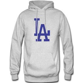 Sudadera Los Angeles Dodgers Mlb Hoodie Capucha Cangurera