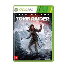 Rise Of The Tomb Raider Xbox 360 Pt Br Mídia Física + Pôster