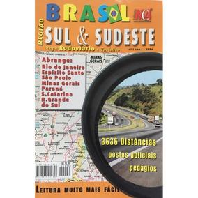Guia Rodoviário Brasil - Região Sul & Sudeste