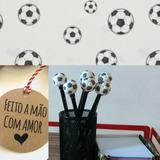 Ponteira De Lápis Biscuit Bola De Futebol