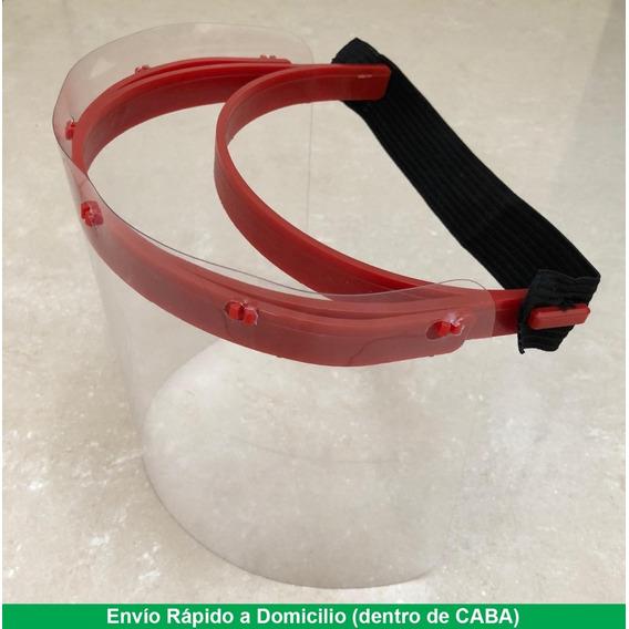 Máscara Protección Facial Plástico Transparente Recambiable