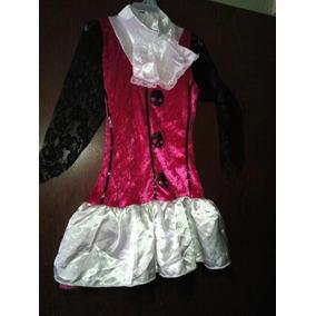 Vestido Disfraz Monster High Niña Halloween Talla 6-7 Años