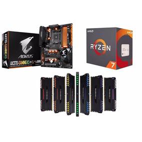 Aorus Ax370-gaming K5+ Processador Ryzen R7 1700+16gb Rgb