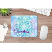 Mousepad Personalizado Mandala Con Nombre
