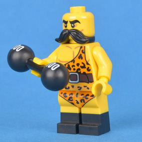 Lego Minifiguras Series 17 Levantador De Pesas Nuevo
