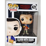 Eleven With Eggos Waffles 421 Funko Pop Stranger Things