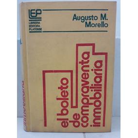 Derecho. Boleto Compraventa Inmobiliaria. Morello