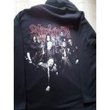 Moleton De Rock* Slipknot (ziper Na Frente)