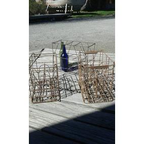 Cajón Botellas Leche, Vino Y/o Sifones En Hierro Originales