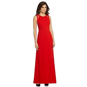 Vestido Largo De Noche Gianni Bini Color Rojo Xs