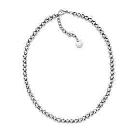 Collar Tommy Hilfiger 2700792 Cadena Esferas Acero Silver