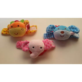 Sonajeros Bebe De Pies Y Manos Estimuladores Woody Toys
