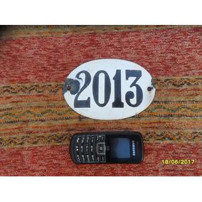 Antiguo Numero Domiciliario Enlozado N° 2013