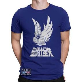 Camisa, Camiseta Os Cavaleiros Do Zodíaco Hyoga Saint Seiya