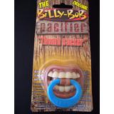 Chupeta Divertida Original Billy Bob Qualidade Bico Ortodont