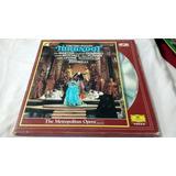 Metropolitan Opera Giacomo Puccini Turandot Laserdisc Box