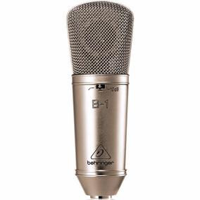 Microfone Condensador Behringer B-1 Com Case Para Estúdio