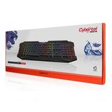 Teclado Gamer Cybertel Mitico Fx K502 Retroiluminado Led