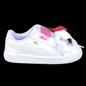 zapatillas puma niña blancas