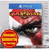 God Of War 3 Iii Digital Remastered Ps4 Español Entrego Ya